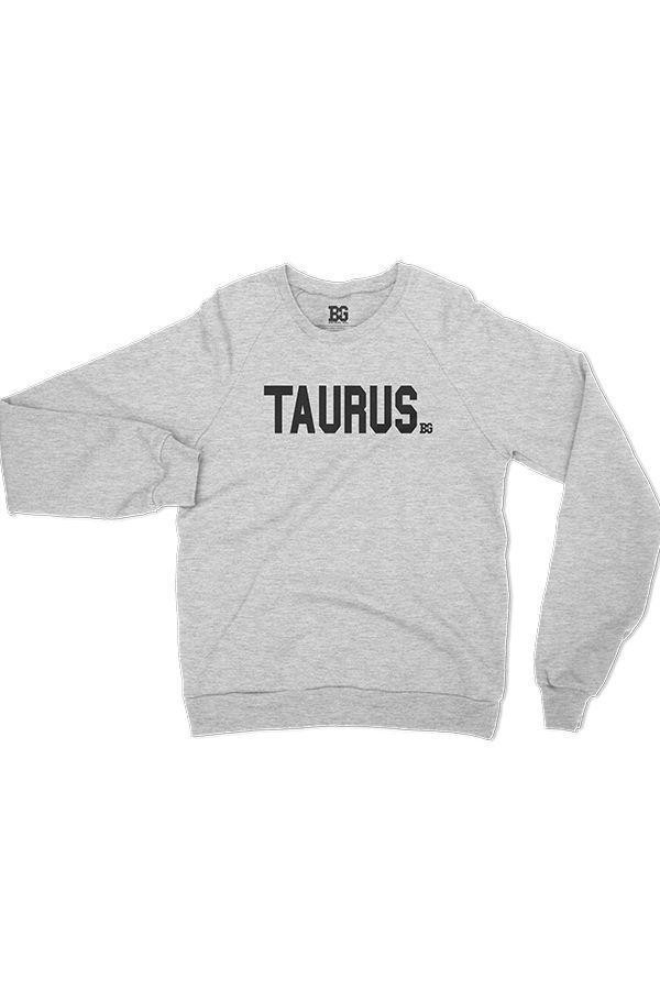 Team Taurus Heather Grey Sweatshirt