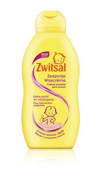Zwitsal Om te wassen - Wascrème voor baby, peuter en kleuter