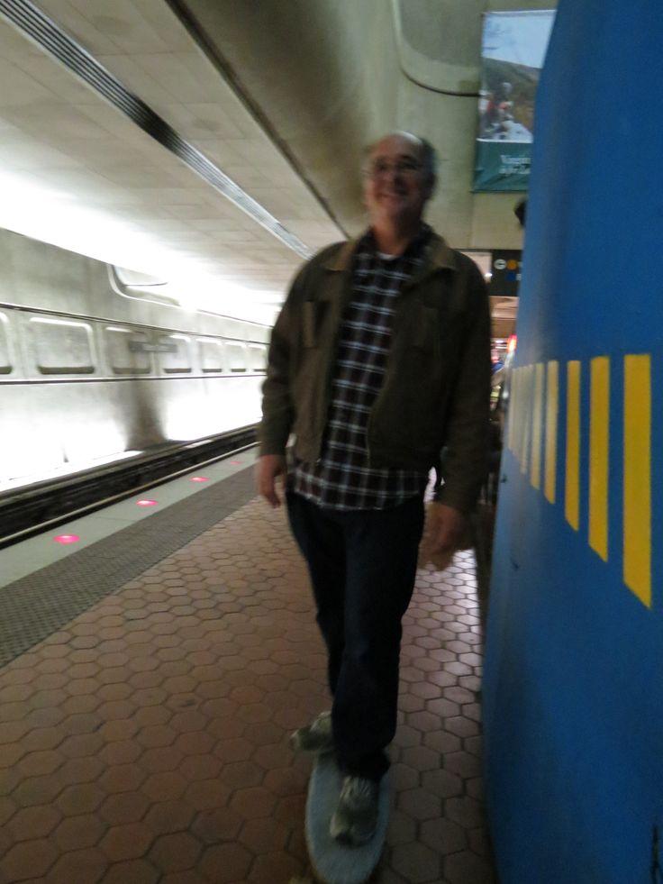 Skateboarding in the Washington metro
