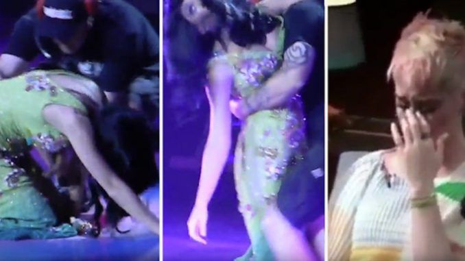 Katy Perry Collapses As Mk-Ultra Mind Control Breakdown Goes Viral