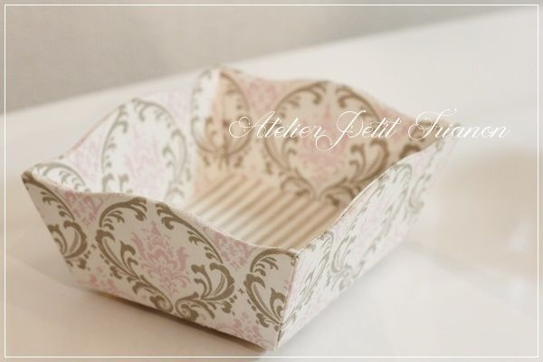 Cartonnage: Petit Trianon *** cartonnage & interior ***