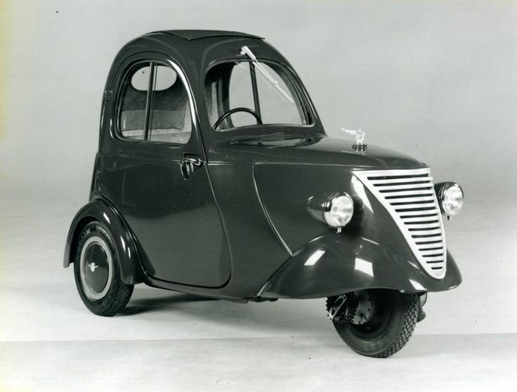 'daf 1 person city car' (1941) nicknamed 'driving raincoat'