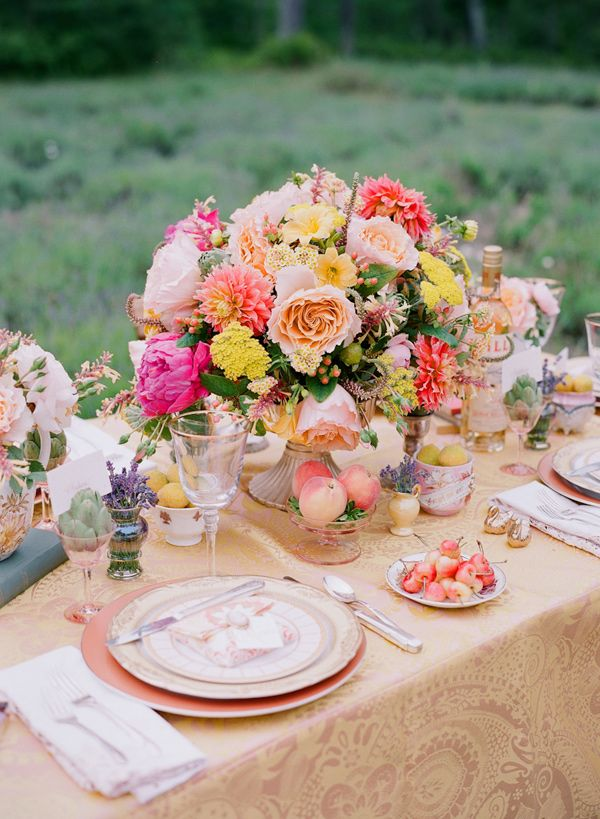 Peach Bridal Luncheon Ideas Chasity Wedding Ideas