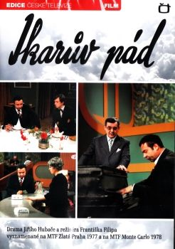 Film České televize Ikarův pád na DVD z Edice České televize.