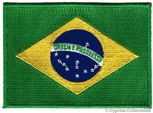 BRAZIL FLAG embroidered iron-on PATCH BRASIL RIO SOCCER NATIONAL EMBLEM applique | Crafts, Sewing, Embelishments & Finishes | eBay!