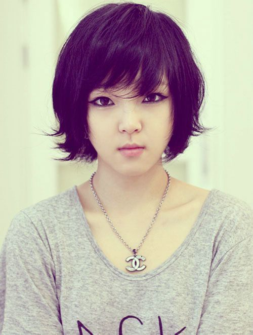 Super 1000 Ideas About Asian Short Hairstyles On Pinterest Asian Bob Short Hairstyles For Black Women Fulllsitofus
