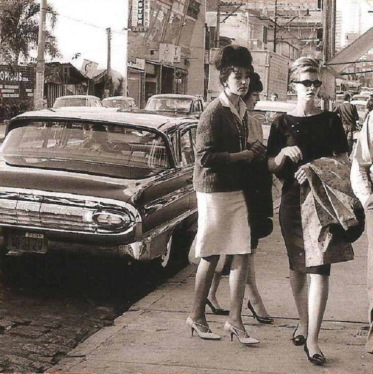 Rua Augusta em 1963