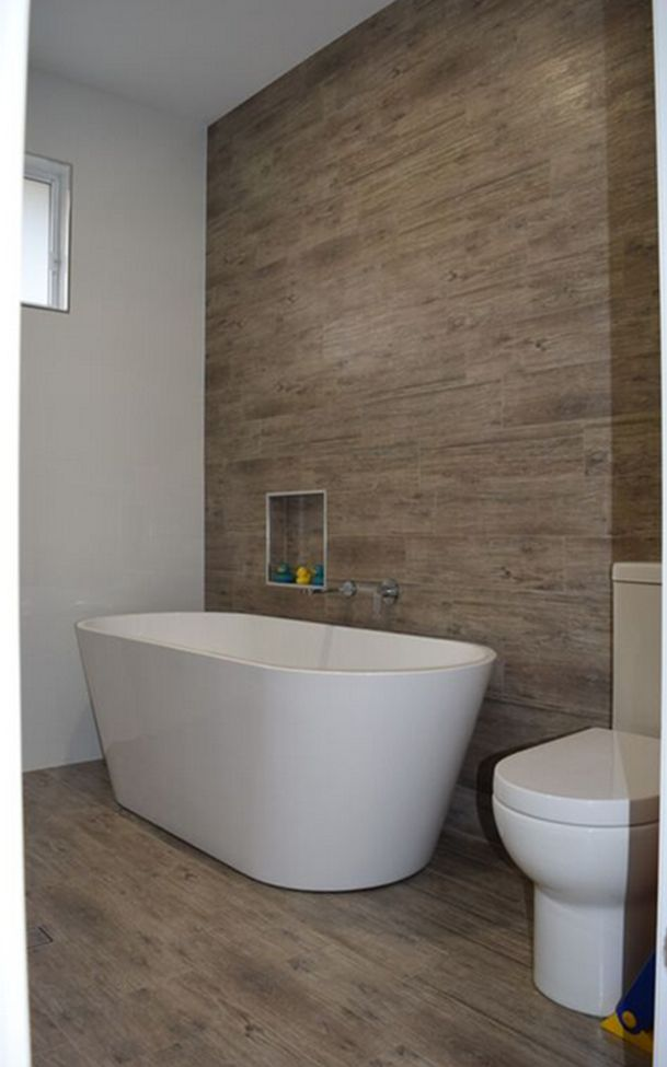 A bathroom with the look and feel of timber but with the maintenance of a tile. 1000  images about Bathroom Tile Inspirations on Pinterest   3d