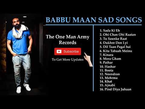 Babbu Maan Sad Songs | Mp3 Mojo | Latest Punjabi songs 2019