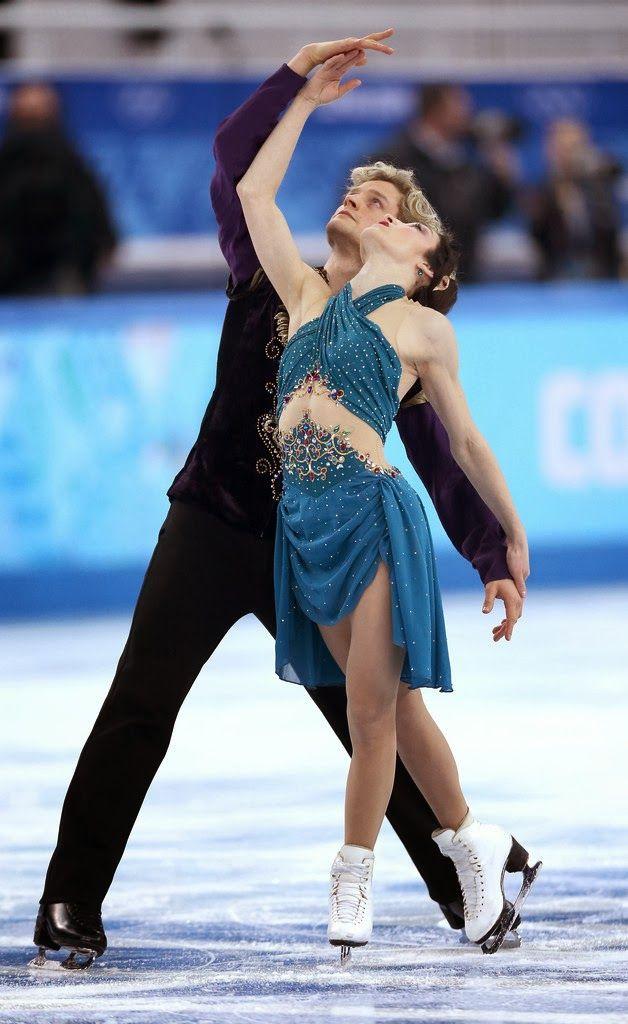 Dancing on Ice - Meryl Davis & Charlie White Team FD - Sochi, Russia - 2014 Olympics