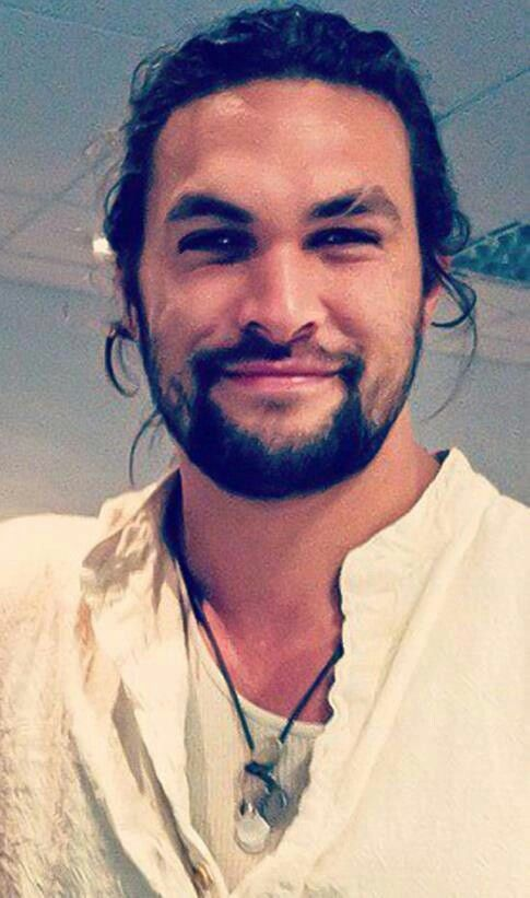 Jason Momoa ♥might have to start watching game of thrones