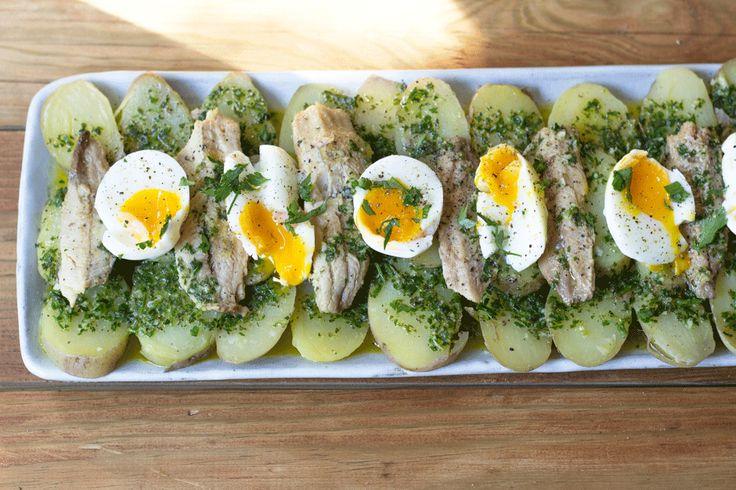 Sardinhas em Conserva com Batatas às Rodelas