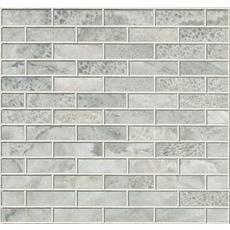 1 x 3 Frost Glass Colour Body Porcelain Brick Mosaic Home Depot Canada