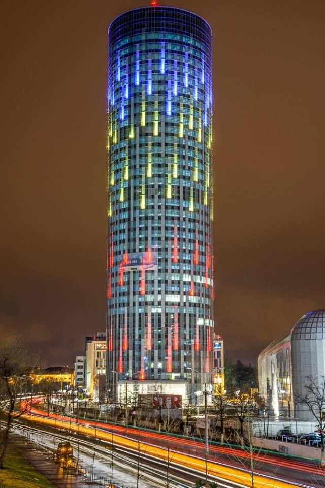 *Bucharest through your eyes*  Bucharest Sky Tower, Romania Thank you Burcea Mihai for this picture!