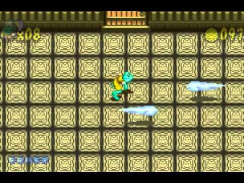 Let's Play Frogger's Adventures Temple of the Frog (GBA) #6 Final Boss a...