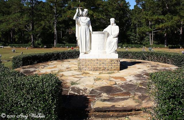 Spring Hill Memorial Gardens Mobile Al Graveyard Walker