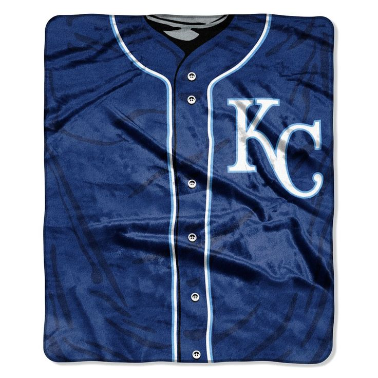 Kansas City Royals Royal Plush Raschel Throw Blanket