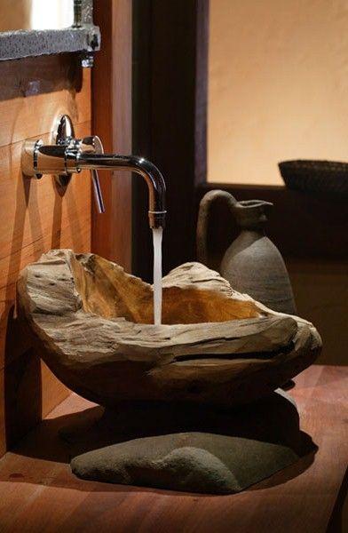 rocking sink. Christopher William Adach - handbook: woodwork and wood elements
