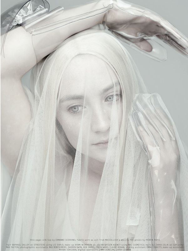 Saoirse Ronan Is 'Born Free' By Rankin For Dazed & Confused April 2013 -