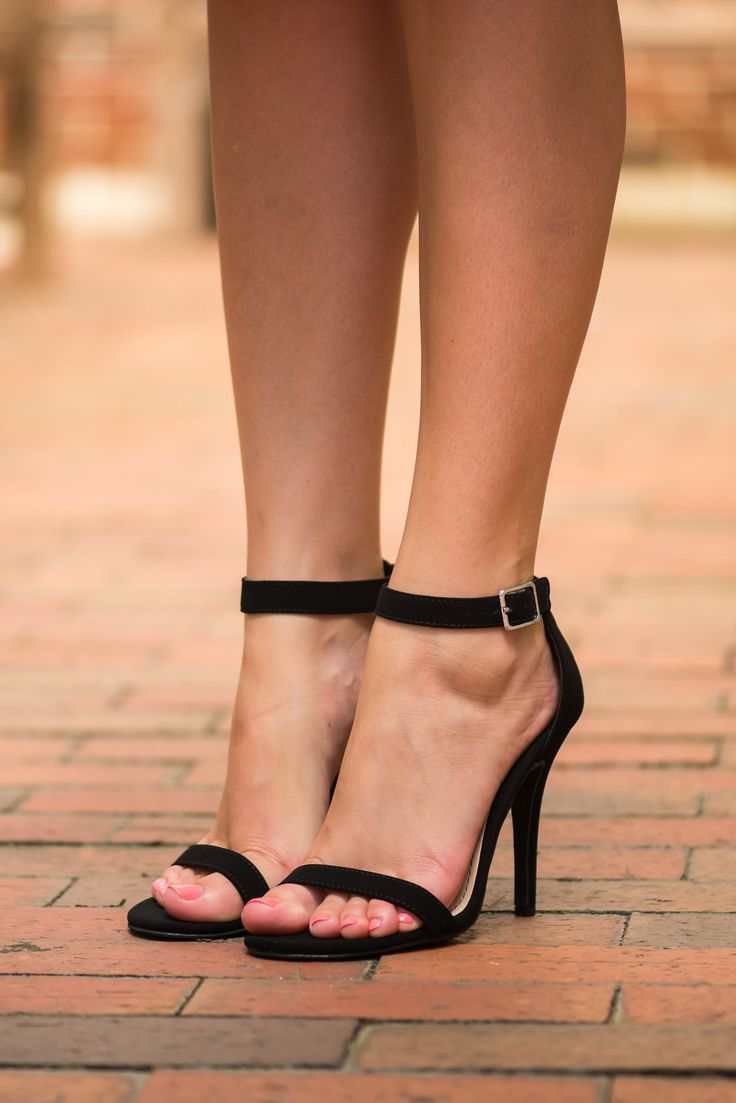 The Zoey Heel, Black - The Mint Julep Boutique