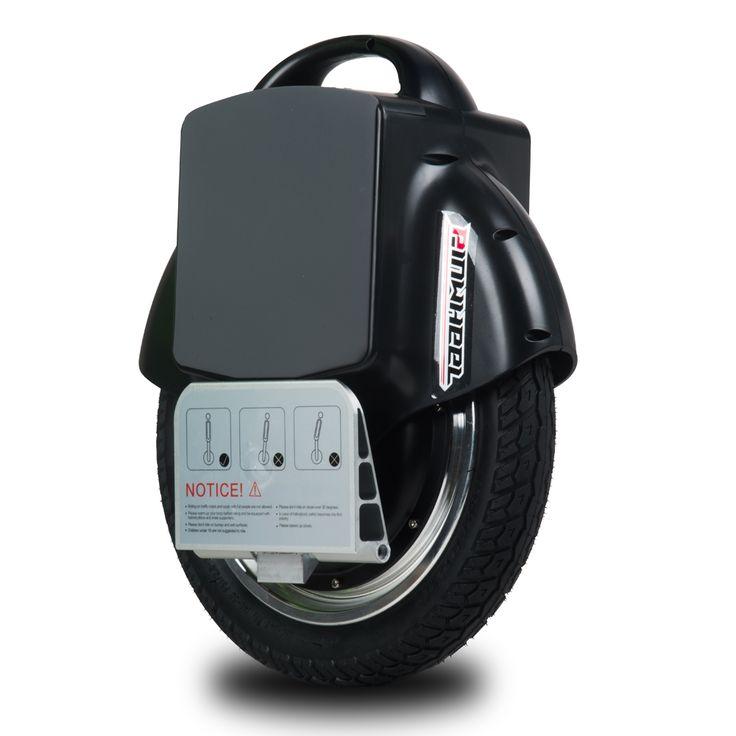 Wholesale PINWHEEL T1 Electric Self Balancing Unicycle Single Wheeled Electric Vehicle Smart Electric Unicycle – black