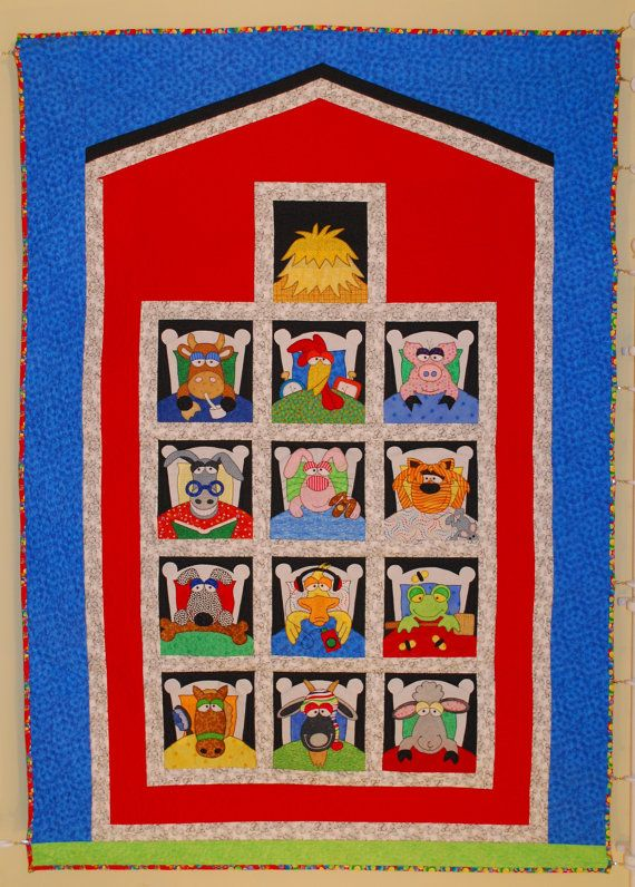 13 best images about Farm animal applique on Pinterest Animals, Block of the month and Cow