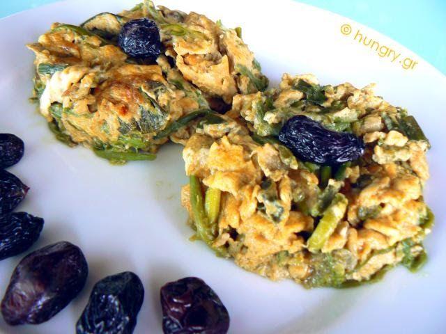 Ομελέτα με Άγρια Σπαράγγια, Σπαράγγια με Αυγά, Συνταγές για Σπαράγγια, Συνταγές για Ομελέτες