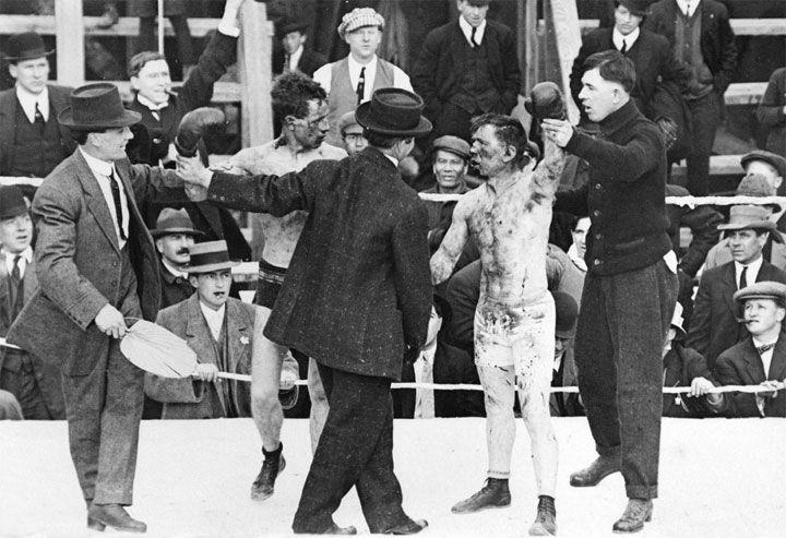 Boxe em 1913