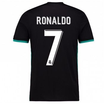 Real Madrid Cristiano Ronaldo 7 Bortatröja 17-18 Kortärmad  #Billiga #fotbollströjor