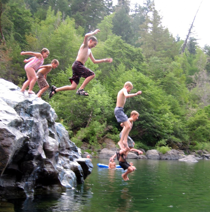 nude boys at the old swimming hole
