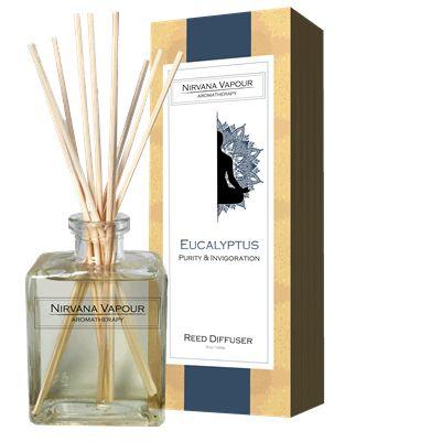 EUCALYPTUS - Nirvana Vapour Aromatherapy - Reed Diffuser #eucalyptus #aromatherapy #fragrance #Diffuser #reed #reeddiffuser #meditation #decor #home #glamour #fashion #beauty