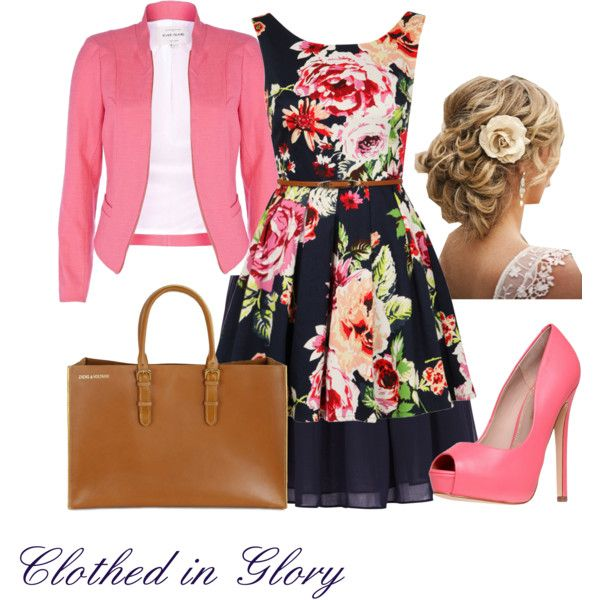 """""""Florally Modest"""" by clothed-in-glory on Polyvore"""