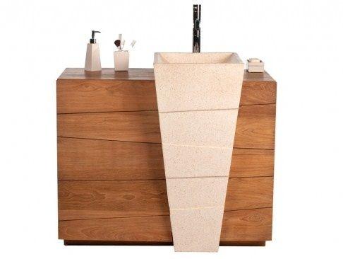 Les 25 meilleures id es concernant vasque totem sur - Leroy merlin lavabo salle de bain ...