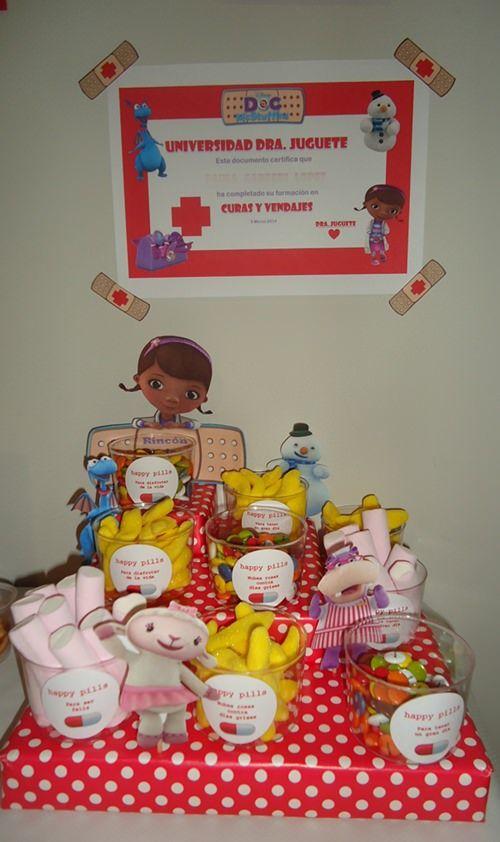fiesta infantil cumple 9 Fiestas de Cumpleaños Doctora Juguetes ...