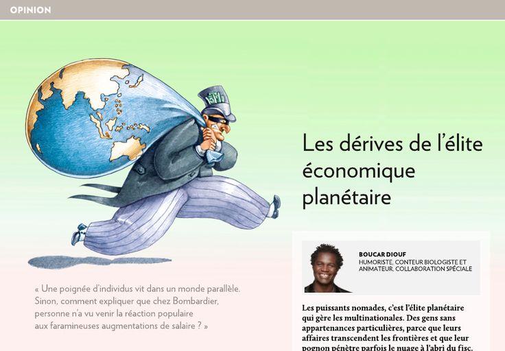 Les dérives de l'élite économique planétaire - La Presse+