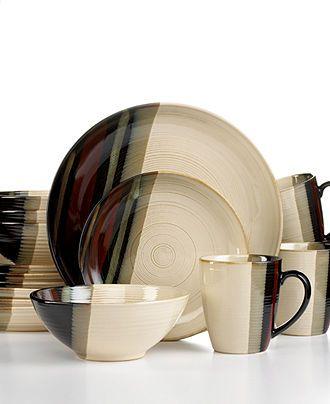 Sango Dinnerware, Alpha White 16 Piece Set - Casual Dinnerware - Dining & Entertaining - Macy's