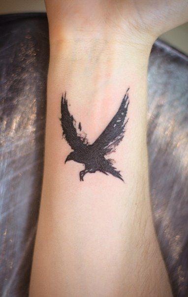 Minimalist Raven Tattoo: 124 Best Images About Skin & Ink On Pinterest
