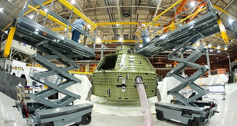 NASA - First Space-Bound Orion on Its Way to Kennedy