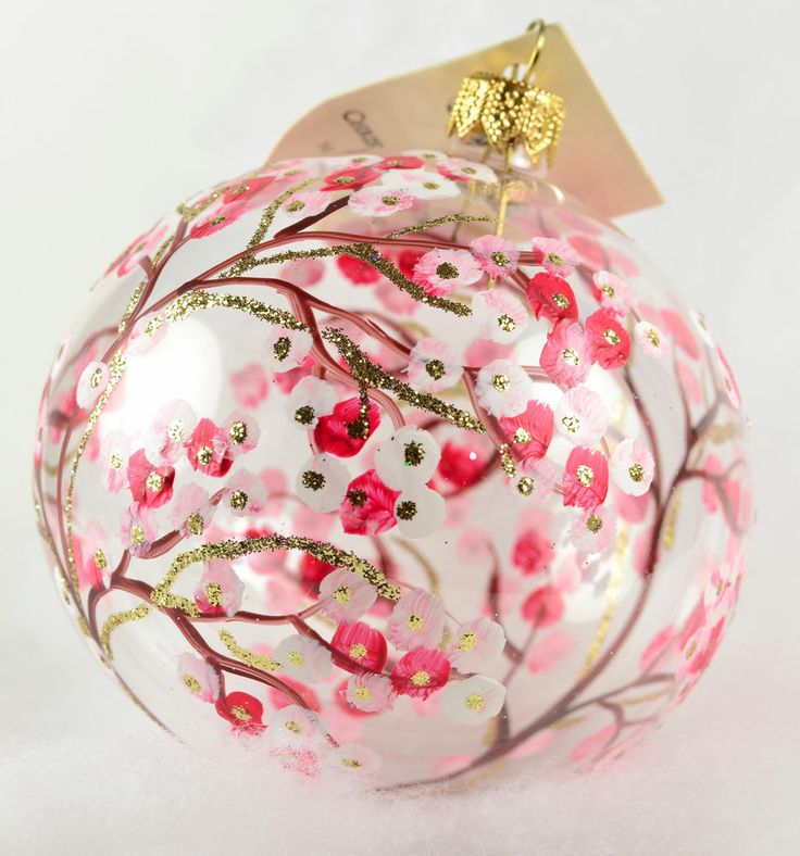 The 25 best images about Ornaments on Pinterest Pink christmas