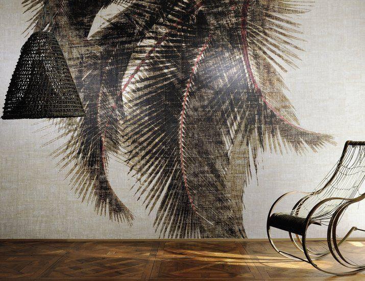Paneel Behang ELITIS Cuba Libre (VP_603_01) - Raffia & Madagascar Collectie - Luxury By Nature