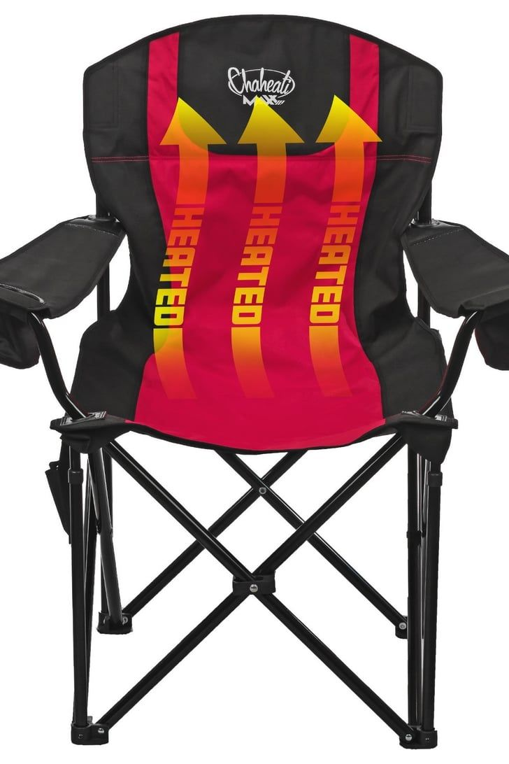 Attention Sports Parents These Folding Chairs Are Heated