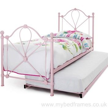 Lyon princess #pink guest #bed