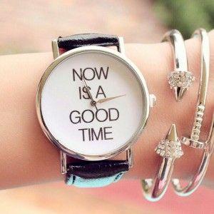 Reloj time tendencia 2016 cuero   Supernatural Style