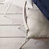 Herringbone Stripe Seat Pad | The White Company