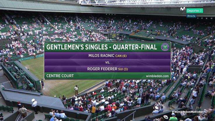 Quart de Final - Wimbledon 2017 - Roger Federer vs Milos Raonic