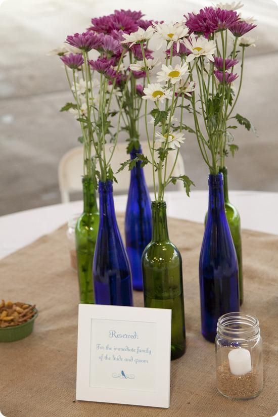 Burlap Square Table Toppers