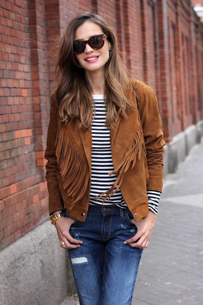 39 best Styling Fringe Jackets images on Pinterest | Fringe jacket ...