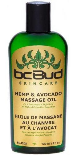 Hemp Massage Oil All Natural Unscented for Sensitive Skin Relaxing Sensual Healing Non Greasy for Stress Relief Fragrance Free Hypoallergenic with Grapeseed Oil Jojoba Oil Avocado Oil120 ml /4 fl oz