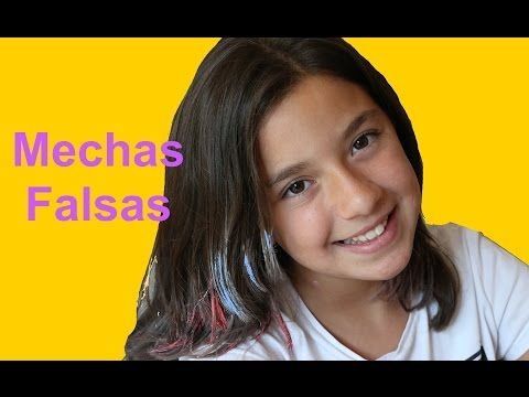 Mechas Californianas Caseras Temporales - Papel Pinocho - YouTube