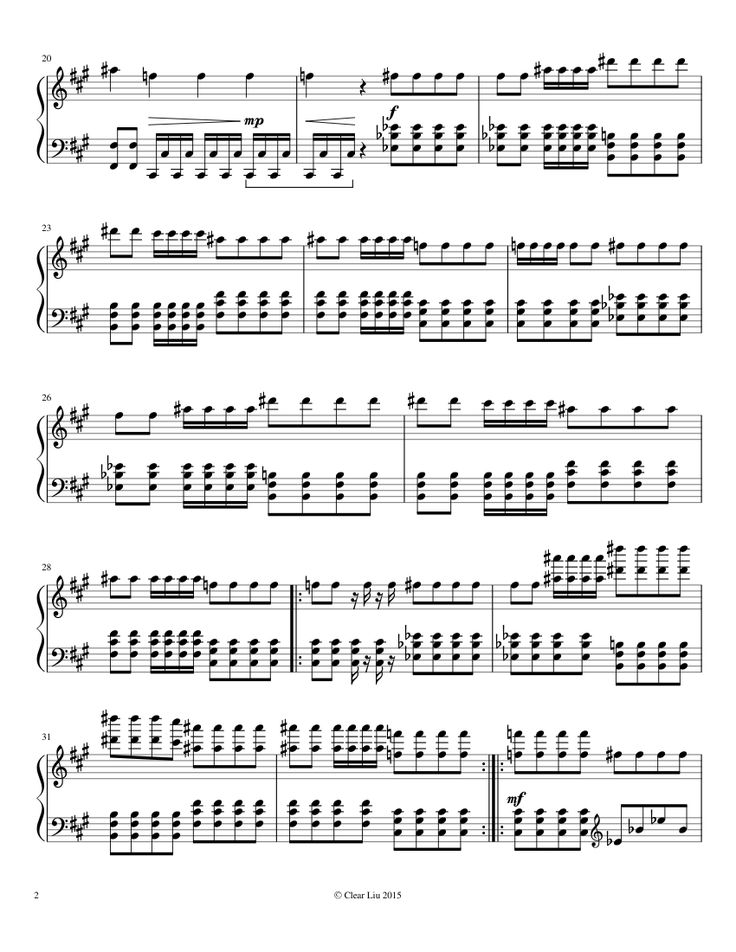 Sheet music made by kingcrab65 for Piano | faded | Pinterest ...